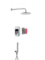 Conjunto ducha con 2 salidas Quad design by Fima italia