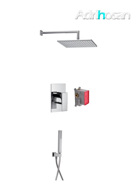 Conjunto ducha con 2 salidas Zeta design by Fima italia