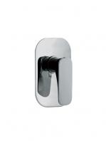 Mezclador empotrado para ducha Quad design by Fima italia