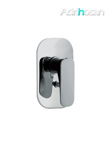 Mezclador empotrado con desviador 2 salidas Quad design by Fima italia