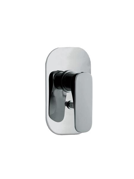 Monomando empotrado de ducha con 2 salidas Quad design by Fima italia
