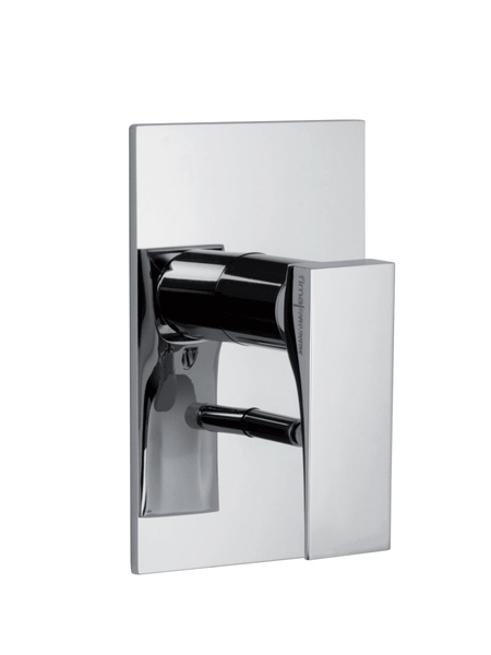 Monomando ducha 2 vías empotrado Zeta design by Fima italia