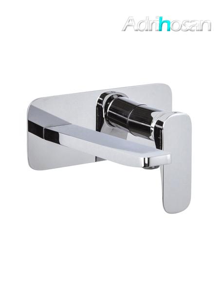 Monomando lavabo empotrado Quad design by Fima italia