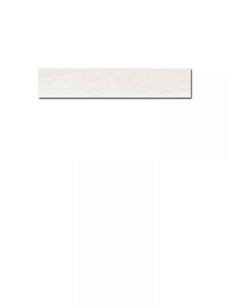 Pavimento porcelánico alto brillo Sabana white 15x90 cm imitación madera (0,95 m2/cj)