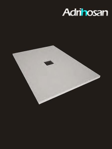 Plato de ducha Solid Surface oxi blanco Antideslizante C3