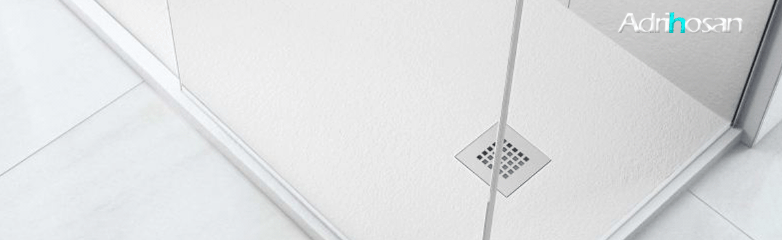 Plato de ducha Fiora extraplano blanco textura pizarra (entrega 72 horas) blanco