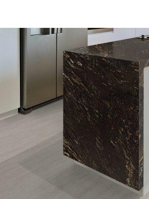 Techlam® Basalto Beige 5mm de espesor. Techlam Basalto Beige hace suya la versión más luminosa de el basalto, una Piedra Natural milenaria.