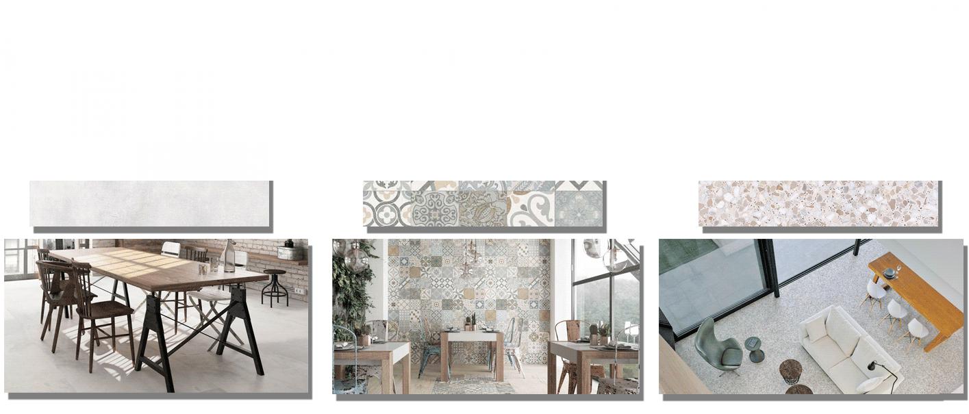 Deco Collection es una gama creada para el deleite de los sentidos. Una selección de materiales de última tendencia que personalizan la elegancia y la sofisticación.