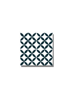 Baldosa hidráulica Arch 20x20x1.5 cm de cemento pigmentado.Labaldosa hidráulicadecorativa se puede utilizar tanto en interior como en exterior.