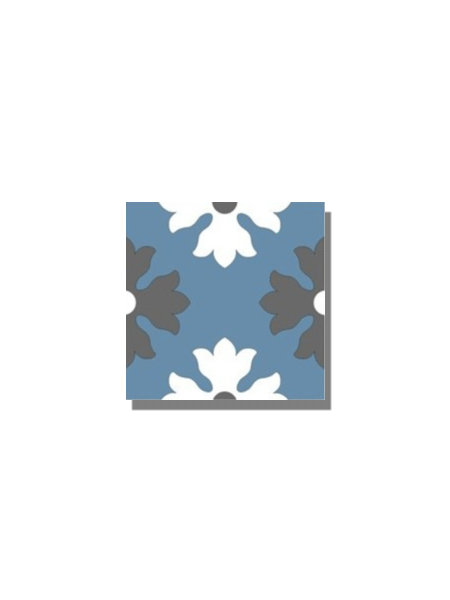 Baldosa hidráulica Beltri 20x20x1.5 cm de cemento pigmentado.Labaldosa hidráulicadecorativa se puede utilizar tanto en interior como en exterior.