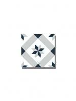 Baldosa hidráulica Calvet 20x20x1.5 cm de cemento pigmentado.Labaldosa hidráulicadecorativa se puede utilizar tanto en interior como en exterior.