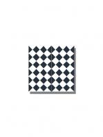 Baldosa hidráulica Chess 20x20x1.5 cm de cemento pigmentado.Labaldosa hidráulicadecorativa se puede utilizar tanto en interior como en exterior.