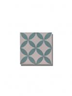 Baldosa hidráulica Civic 20x20x1.5 cm de cemento pigmentado.Labaldosa hidráulicadecorativa se puede utilizar tanto en interior como en exterior.