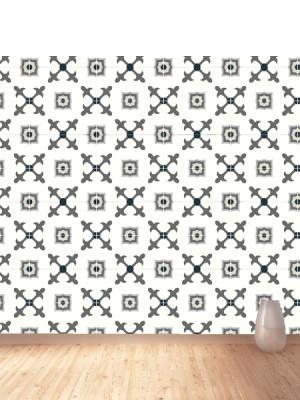 Baldosa hidráulica Florentina 20x20x1.5 cm de cemento pigmentado.Labaldosa hidráulicadecorativa se puede utilizar tanto en interior como en exterior.