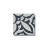 Baldosa hidráulica Mikonos 20x20x1.5 cm de cemento pigmentado.Labaldosa hidráulicadecorativa se puede utilizar tanto en interior como en exterior.