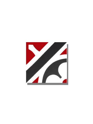 Baldosa hidráulica Nassau 20x20x1.5 cm de cemento pigmentado.Labaldosa hidráulicadecorativa se puede utilizar tanto en interior como en exterior.
