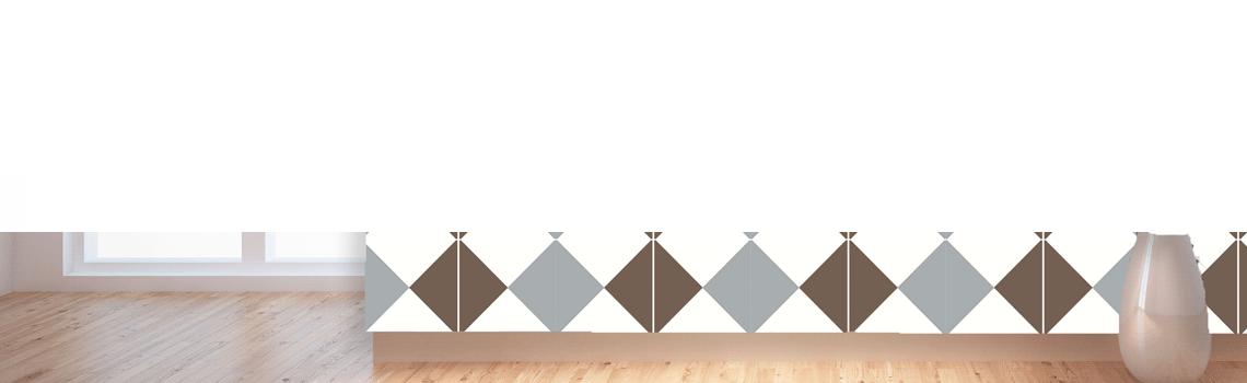 Baldosa hidráulica Roura 20x20x1.5 cm de cemento pigmentado.Labaldosa hidráulicadecorativa se puede utilizar tanto en interior como en exterior.