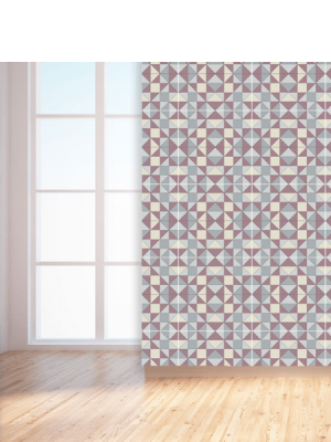 Baldosa hidráulica Valvanera 20x20x1.5 cm de cemento pigmentado.Labaldosa hidráulicadecorativa se puede utilizar tanto en interior como en exterior.
