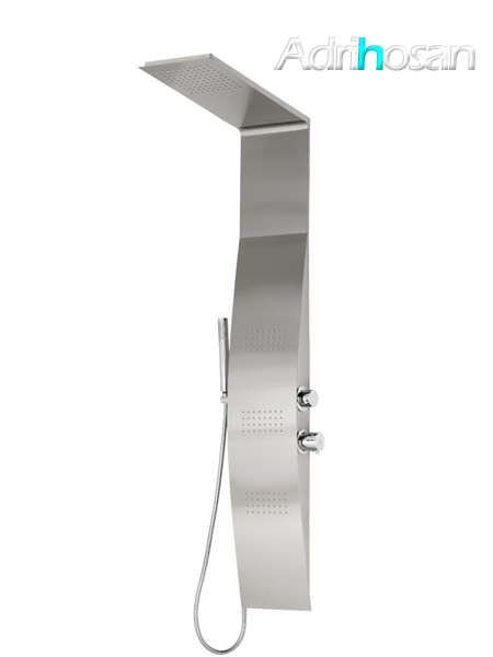 Columna de ducha monomando Sais cromada