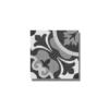 Pavimento porcelánico imitación hidráulico Nouveau grey 20 x 20 cm. Un azulejo para pavimento o revestimiento estilo retro imitación a baldosa hidráulica.
