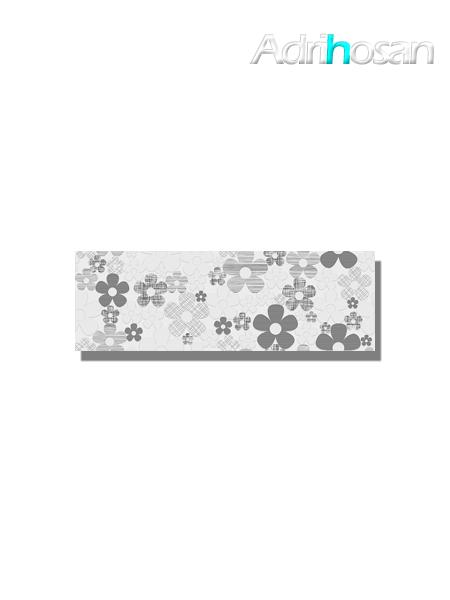 Revestimiento decorado daisy brillo 20x60 cm (1.05 m2/cj)