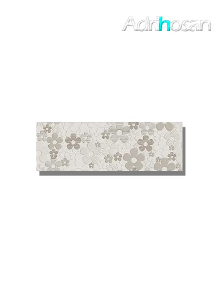 Revestimiento decorado daisy Beige brillo 20x60 cm (1.05 m2/cj)