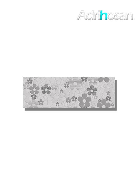 Revestimiento decorado daisy Pearl brillo 20x60 cm (1.05 m2/cj)