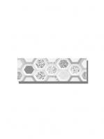 Revestimiento soft decorado geom brillo 20 x 60 cm. Una serie de azulejos para paredes de colores cálidos para cualquier diseño de tu cocina o baño.