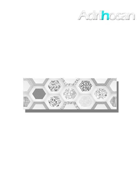 Revestimiento decorado geom decor brillo 20x60 cm (1.05 m2/cj)