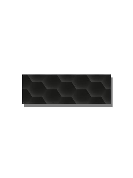 Revestimiento soft decorado geom black brillo 20 x 60 cm. Una serie de azulejos para paredes de colores cálidos para cualquier diseño de tu cocina o baño.
