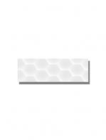 Revestimiento soft decorado geom white brillo 20 x 60 cm. Una serie de azulejos para paredes de colores cálidos para cualquier diseño de tu cocina o baño.