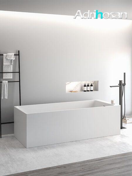 Bañera exenta Solid Surface Volta 169x68 cm