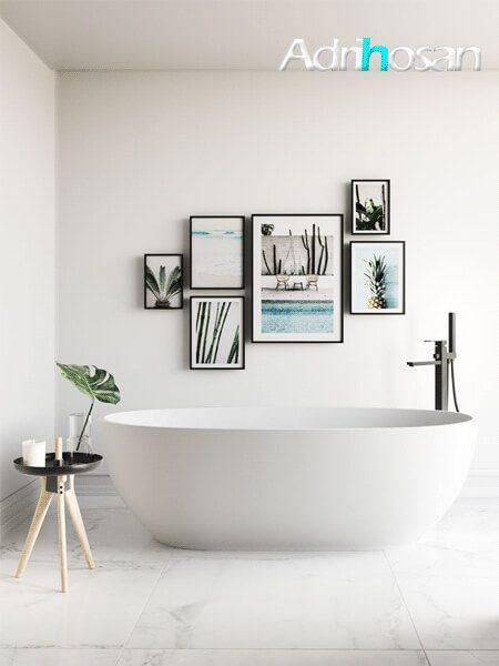 Bañera exenta Solid Surface Toba 150x70 cm