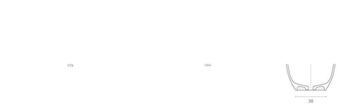 Bañera exenta Solid Surface Toba 150x70 cm. Bañera de libre instalación con rebosadero interno. Una bañera de líneas curvas con una frágil curvatura.
