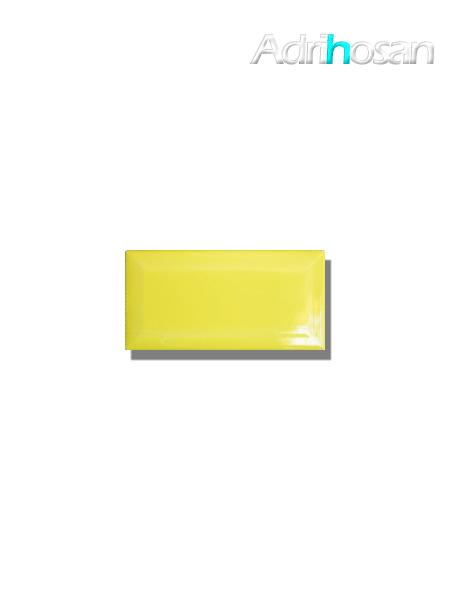 Azulejo biselado tipo metro lima 7.5x15 cm (1 m2/cj)