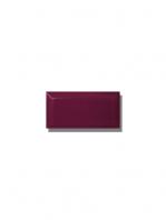 Azulejo biselado tipo metro violeta 7.5x15 cm. Revestimiento biselado bicocción para decoraciones estilo vintage en baños o cocinas.
