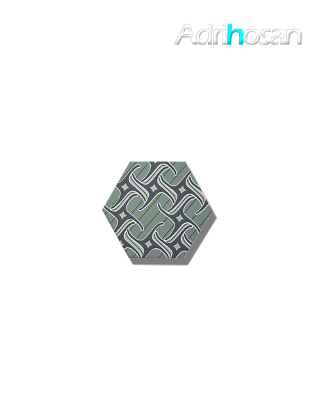 Azulejo hexagonal good vibes decor 4 14x16 cm (0.402 m2/cj)