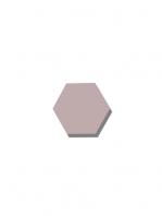 Azulejo hexagonal good vibes pink 14x16 cm. Revestimiento hexagonal porcelánico para decoraciones estilo vintage en baños o cocinas.