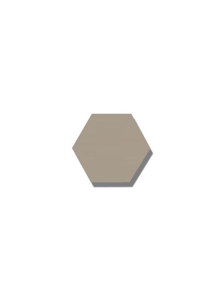 Azulejo hexagonal good vibes sand 14x16 cm. Revestimiento hexagonal porcelánico para decoraciones estilo vintage en baños o cocinas.