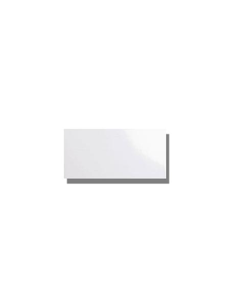 Azulejo tipo metro liso blanco brillo 10X20 cm. El clásico azulejo para decoraciones retro o vintage o incluso modernas o minimalistas. Primera calidad.
