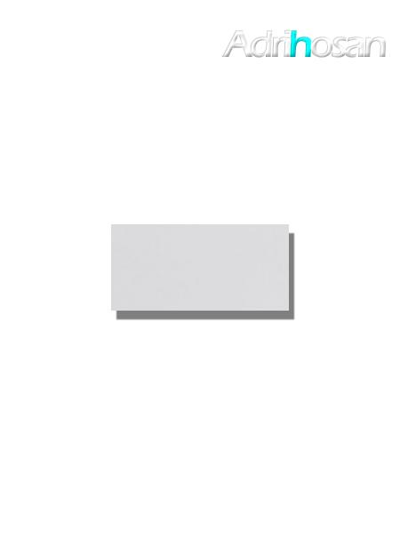 Azulejo tipo metro liso blanco mate 10X20 cm (1 m2/cj)