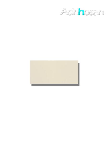 Azulejo tipo metro liso ivory brillo 10X20 cm (1 m2/cj)