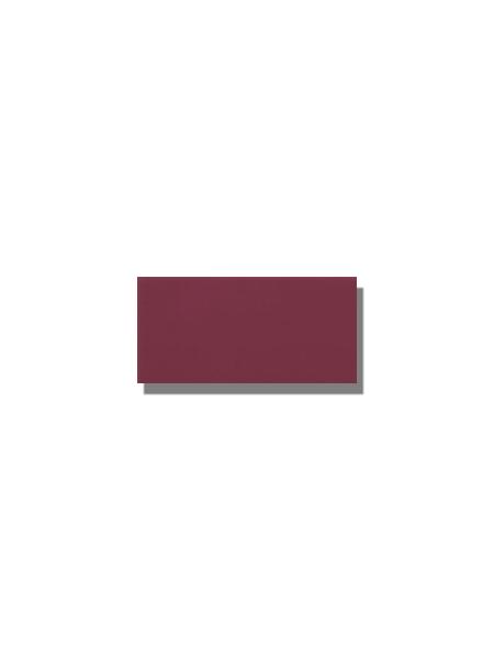 Azulejo tipo metro liso malva brillo 10X20 cm. El clásico azulejo para decoraciones retro o vintage o incluso modernas o minimalistas. Primera calidad.