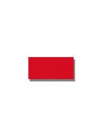 Azulejo tipo metro liso rojo brillo 10X20 cm. El clásico azulejo para decoraciones retro o vintage o incluso modernas o minimalistas. Primera calidad.