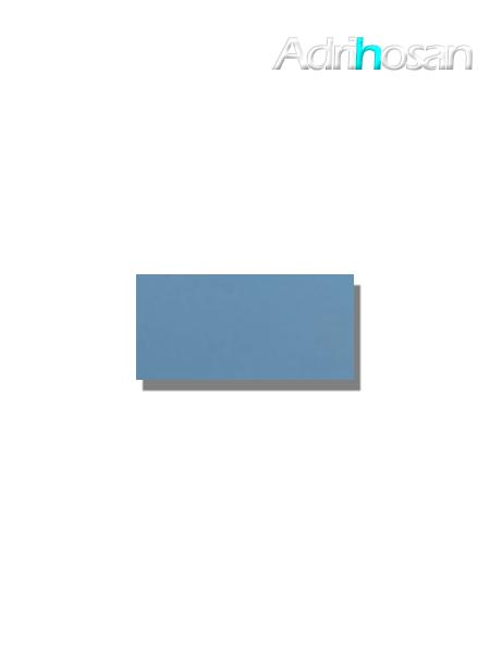 Azulejo tipo metro liso teal brillo 10X20 cm (1 m2/cj)