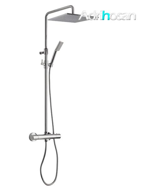 Columna de ducha termostática cromada Orta design by Fima italia