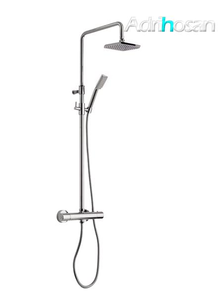 Columna de ducha termostática cromada Parma design by Fima italia