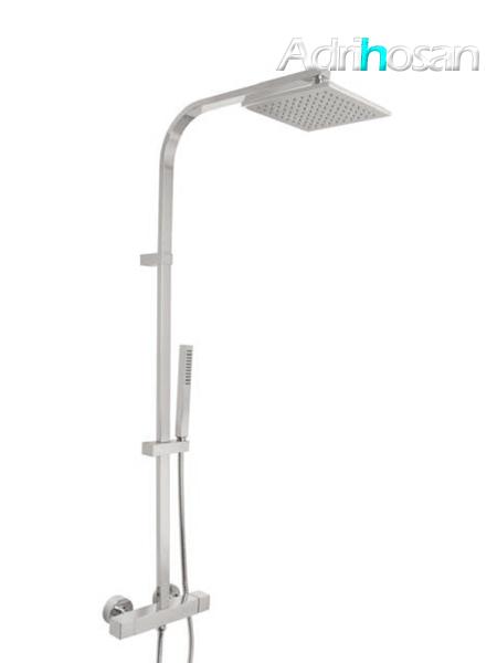 Columna de ducha termostática cromada Verona design by Fima italia