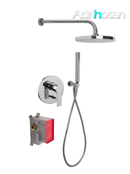 Conjunto ducha con 2 salidas Mast design by Fima italia