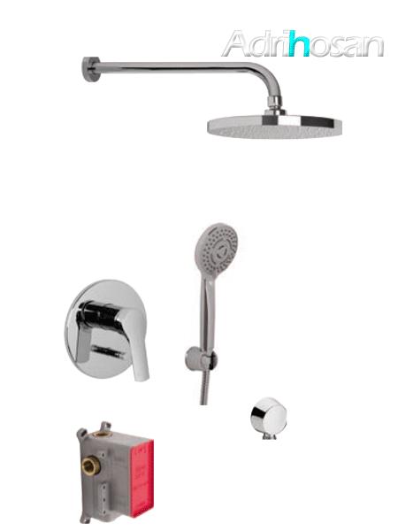 Conjunto ducha con 2 salidas Serie 4 design by Fima italia